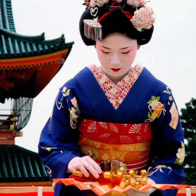 Сценка поздравление японка