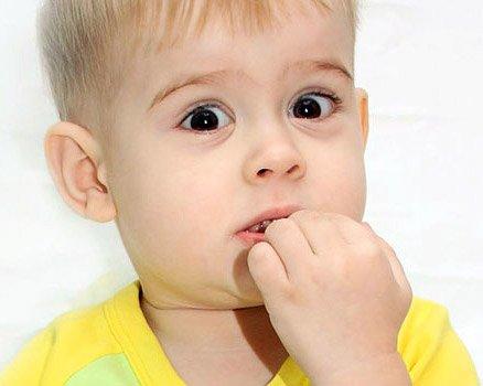 Если ребенок грызет ногти