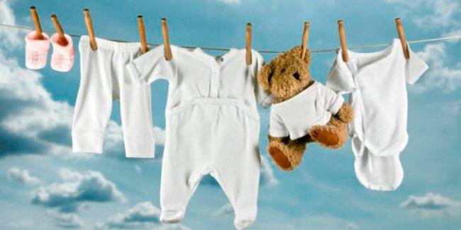 Основные принципы ухода за детской одеждой