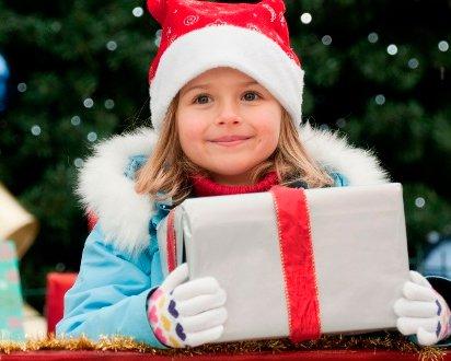 Новогодние подарки для детей в зависимости от возраста