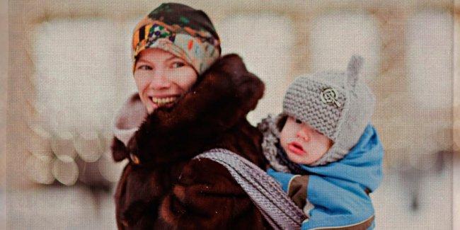 Слингокуртка - комфортные прогулки даже зимой!