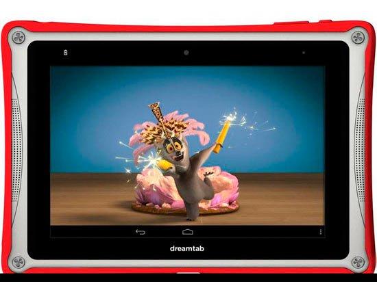 DreamWorks выпустит детский планшет
