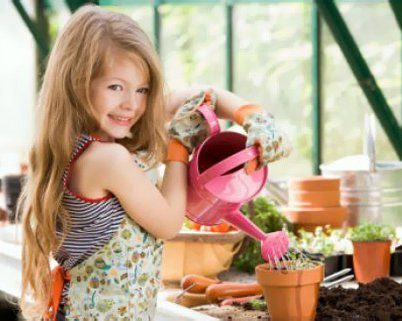 Украшаем детскую комнату цветами