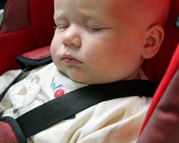 Особенности путешествий с детьми на машине