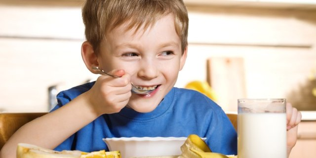 Домашний завтрак для школьника