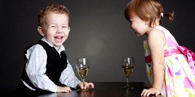 Чем опасно детское шампанское?