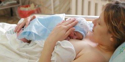 Мама и ребенок после родов