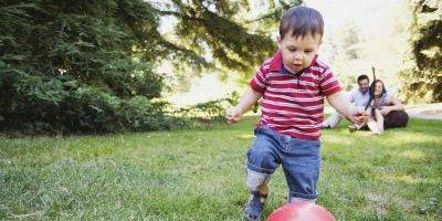 Подвижные игры с ребенком до 3 лет