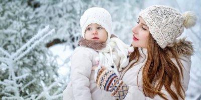 Как одевать ребенка в зимой?