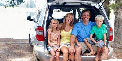Путешествие на машине всей семьей