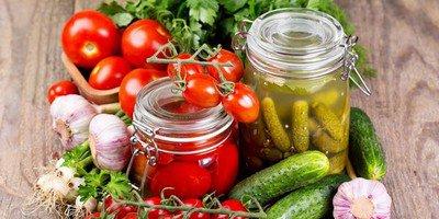 Консервируем овощи на зиму